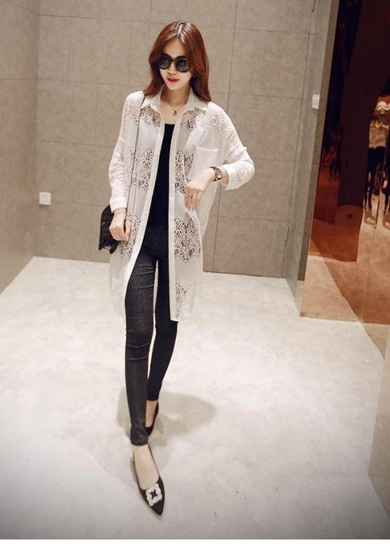 J60313 IDR.135.000 MATERIAL LACE LENGTH 96CM WEIGHT 220GR COLOR WHITE
