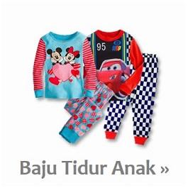 Koleksi Baju Tidur Piyama Anak