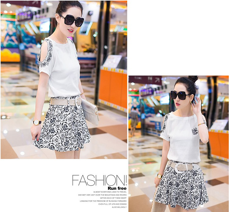 L44430 IDR.180.000 MATERIAL COTTON SIZE M,L,XL-LENGTH-TOP60CM,61CM,62CM-SKIRT40CM,41CM,42CM-BUST84CM,88CM,92CM-WAIST66CM,70CM,74CM WEIGHT 300GR COLOR WHITE
