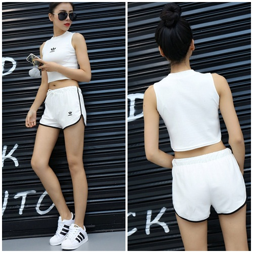 LS51116 IDR.101.000 MATERIAL COTTON TOP39CM PANT31CM-BUST76CM-WAIST66CM WEIGHT 250GR COLOR WHITE