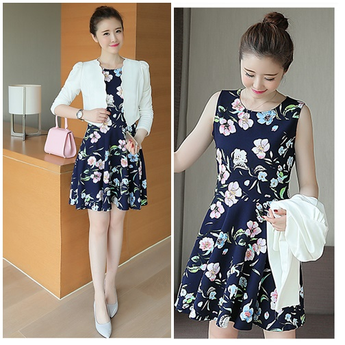 LS59438 IDR.152.000 MATERIAL KNITTED-SIZE-M,L-LENGTH82,83CM-BUST86,90CM WEIGHT 300GR COLOR DARKBLUE