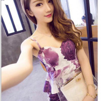 Baju Wanita Import - LS7797-1SET IDR.145.000 MATERIAL COTTON LENGTH-TOP48CM-PANT42CM BUST80CM-WAIST68CM WEIGHT 300GR COLOR PURPLE