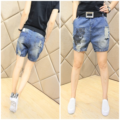 P38584 IDR.128.000 MATERIAL DENIM SIZE M,L-LENGTH36CM,37CM-WAIST78CM,80CM WEIGHT 250GR COLOR ASPHOTO