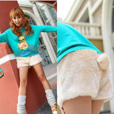 P6351 IDR.92.OOO MATERIAL PLUSH-LENGTH-28CM-WAIST-62-100CM WEIGHT 220GR COLOR APRICOT