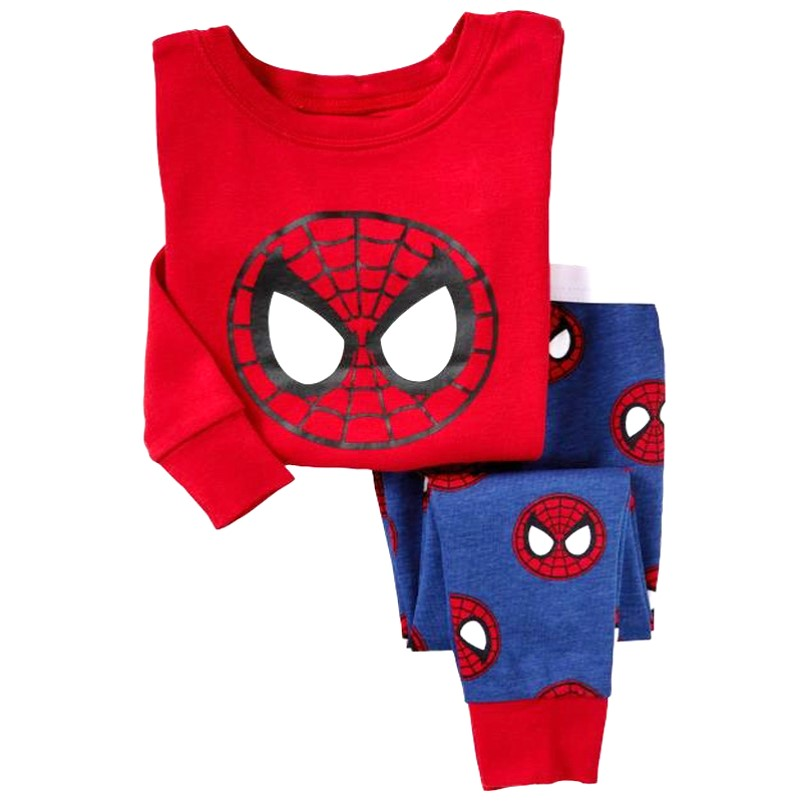 PJ094 BAJU TIDUR ANAK SPIDERMAN IDR 75.000 BAHAN COTTON SIZE 90,95,100,110,120,130 WEIGHT 500GR COLOR RED