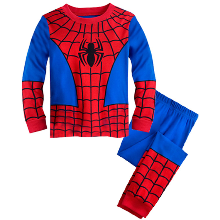 PJ690 BAJU TIDUR ANAK SPIDERMAN IDR 75.000 BAHAN COTTON SIZE 90,95,100,110,120,130 WEIGHT 500GR COLOR RED