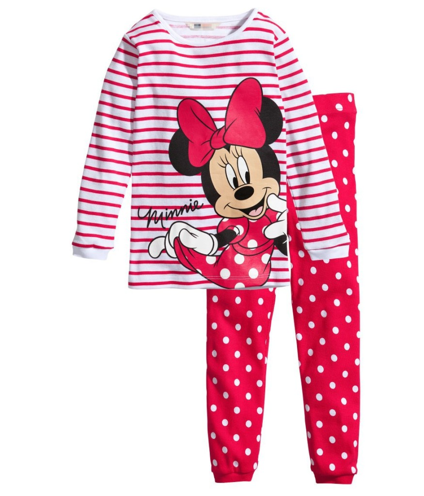 PY069 BAJU TIDUR ANAK MINNIE IDR 75.000 BAHAN COTTON SIZE 90,95,100,110,120,130 WEIGHT 500GR COLOR PINK