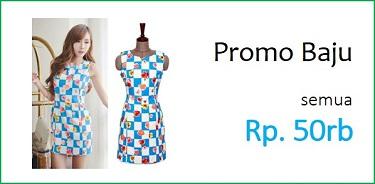 Katalog Promo Baju Fashion Import 50rb