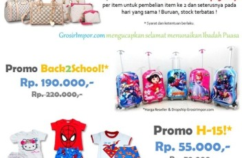 Promo Tas Fashion Import Lebaran