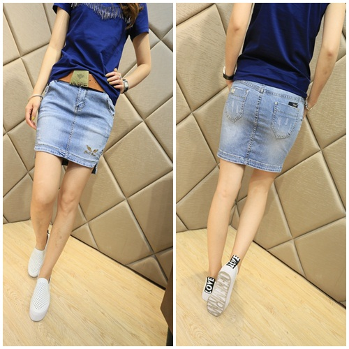 S38851 IDR.130.000 MATERIAL DENIM SIZE M,L-LENGTH39CM,40CM-WAIST72CM,74CM WEIGHT 250GR COLOR ASPHOTO