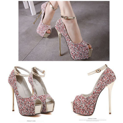 SH0616 IDR.248.000 MATERIAL PU-HEEL-5CM,14.5CM COLOR RED SIZE 36,37,38,39,40