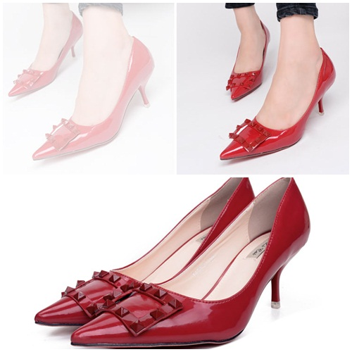 SH1161 IDR.230.000 MATERIAL PU HEEL 6CM COLOR RED SIZE 35,36,37,38,39.jpg