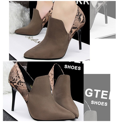 SH1223 IDR.245.000 MATERIAL SUEDE HEEL 9.5CM COLOR BROWN SIZE 35,36,37,38,39