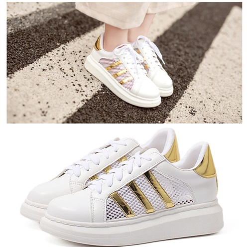 SH18189 IDR.255.000 MATERIAL PU-HEEL-4.5CM COLOR GOLD SIZE 36,37,38,39