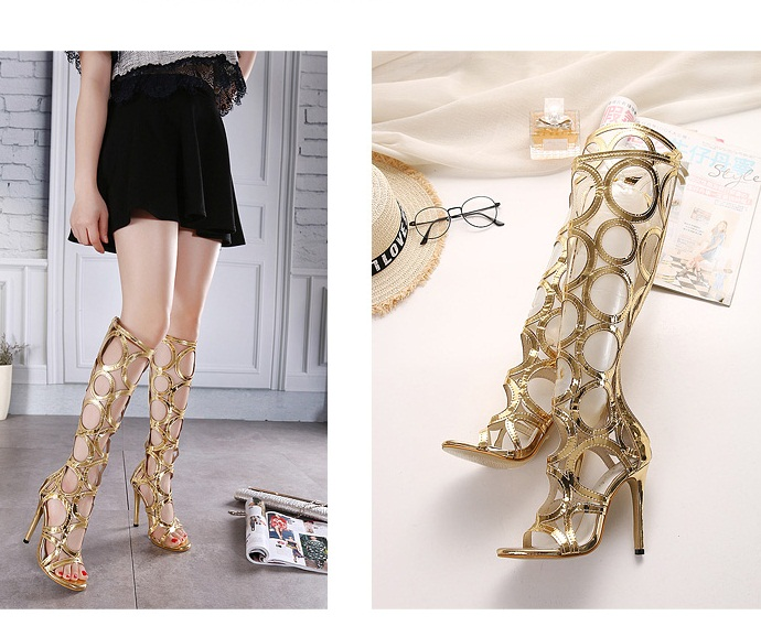 SH1889 IDR.269.000 MATERIAL PU-HEEL-11CM COLOR GOLD SIZE 37,38,39,40