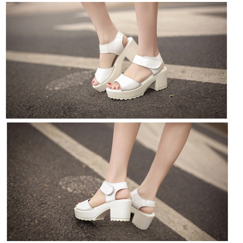 SH2299 IDR.215.000 MATERIAL PU-HEEL-7.5CM COLOR WHITE SIZE 36,37,38,39