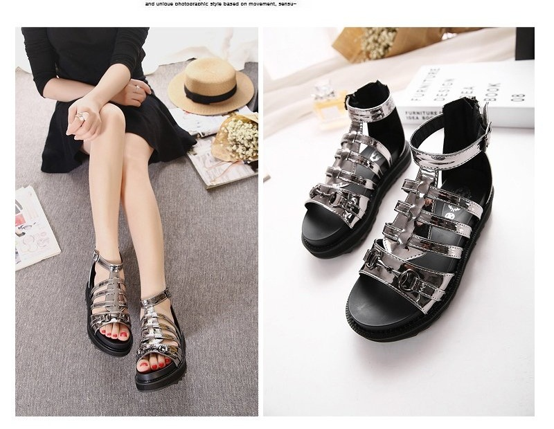 SH2691 IDR.254.000 MATERIAL PU-HEEL-5CM COLOR SILVER SIZE 36,37,38,39