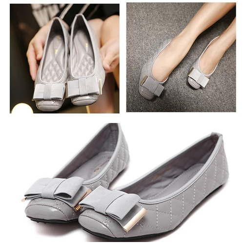 SH308735 IDR.185.000 MATERIAL PU COLOR GRAY SIZE 36,37,38,39