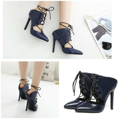 SH31766 IDR.215.000 MATERIAL PU-HEEL-11.5CM COLOR BLUE SIZE 36,37,38,39