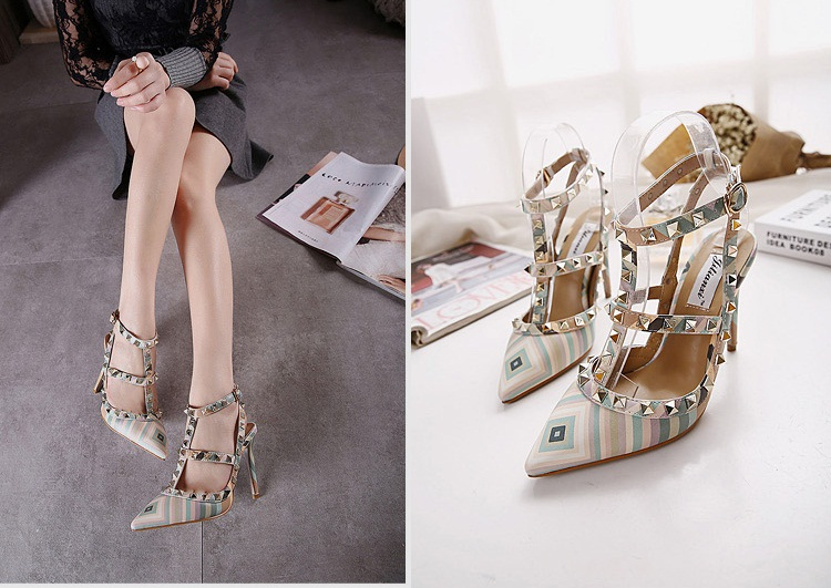 SH37016 IDR.275.000 MATERIAL PU-HEEL-10.5CM COLOR GREEN SIZE 36