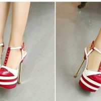 SH53231 IDR.235.000 MATERIAL PU-HEEL-16.5CM COLOR WHITE SIZE 36