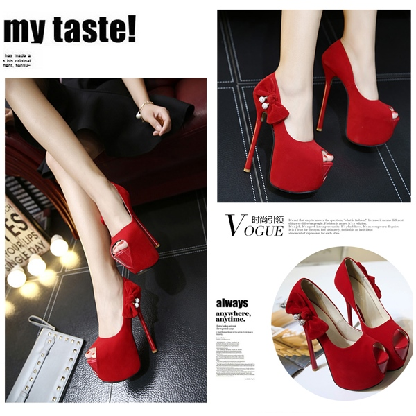 SH532327 IDR.238.000 MATERIAL PU-HEEL-16CM COLOR RED SIZE 36,37,38,39