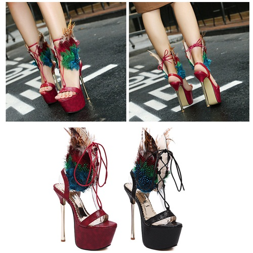 SH53238 IDR.275.000 MATERIAL PU-HEEL-16.5CM COLOR RED SIZE 36,37,38,39,40