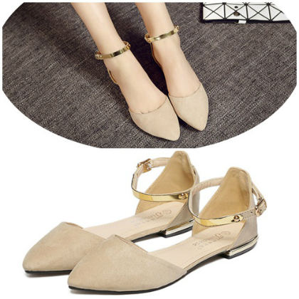 SH5503 IDR.208.000 MATERIAL SUEDE-HEEL-1.5CM COLOR APRICOT SIZE 35,36,37,38,39,40