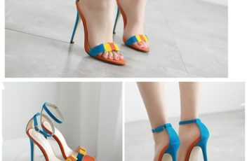 SH5585 IDR.215.000 MATERIAL SUEDE-HEEL-11.5CM COLOR BLUE SIZE 35,36,37,38,39,40