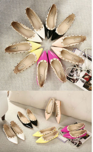 SH5881 IDR.198.000 MATERIAL PU-HEEL-2CM COLOR YELLOW SIZE 35,36,37,38,39,40