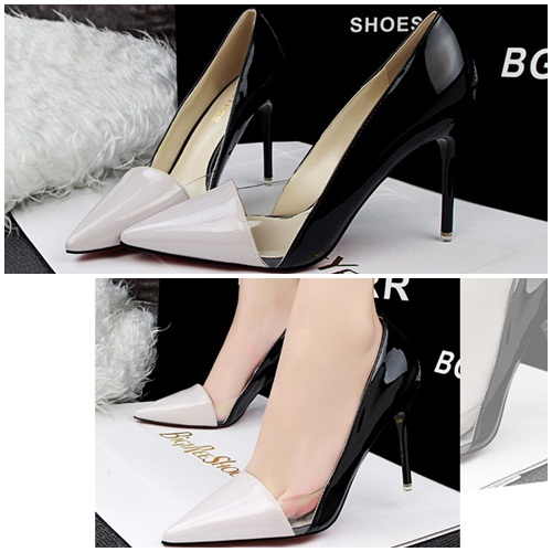 SH60191 IDR.215.000 MATERIAL PU-HEEL-9.5CM COLOR APRICOT SIZE 35,36,37,38,39