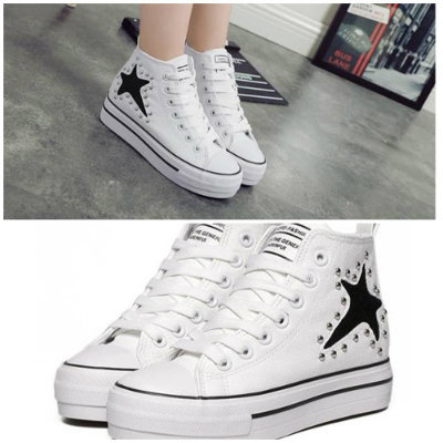 SH626 IDR.215.000 MATERIAL PU-HEEL-3CM COLOR WHITE SIZE 36,37,38,39