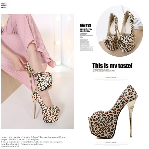 SH65123 IDR.248.000 MATERIAL PU HEEL 16CM COLOR BROWN SIZE 36,37,38,39
