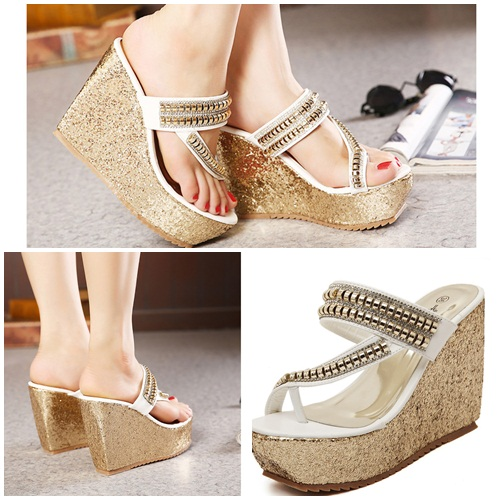 SH655 IDR.235.000 MATERIAL PU HEEL 5CM,11CM COLOR WHITE SIZE 36,37,38,39