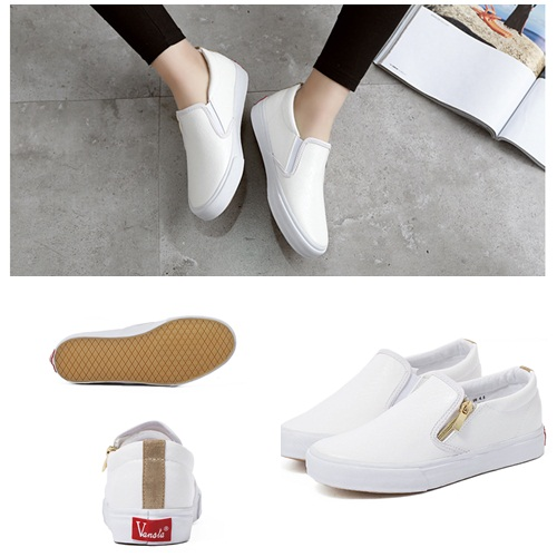 SH719 IDR.219.000 MATERIAL PU-HEEL-3CM COLOR WHITE SIZE 36,37,38,39