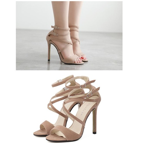SH7508 IDR.215.000 MATERIAL SUEDE-HEEL-11CM COLOR APRICOT SIZE 35,36,37,38,39