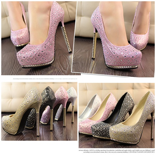 SH8132 IDR.265.000 MATERIAL PU HEEL 4CM,13.5MC COLOR PINK SIZE 36,37,38