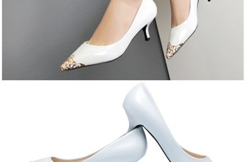 SH8386 IDR.228.000 MATERIAL PU-HEEL-5CM COLOR WHITE SIZE 35,36,37,38,39