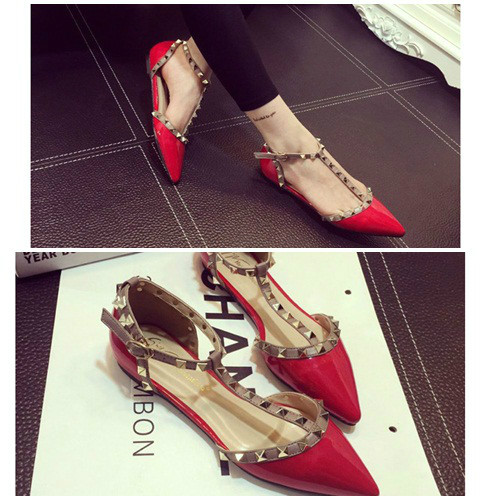 SH8695 IDR.250.000 MATERIAL PU COLOR RED SIZE 35,36,37,38,39