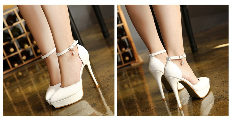 SH87811 IDR.210.000 MATERIAL PU-HEEL-12CM COLOR WHITE SIZE 35,36,37,38,39