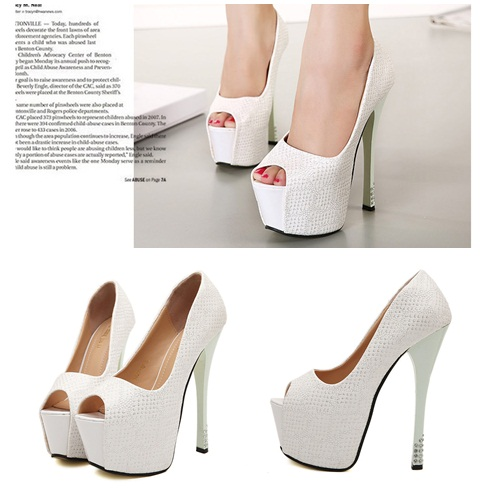 SH8828 IDR.262.000 MATERIAL PU HEEL 5CM,14CM COLOR WHITE SIZE 37,38,39