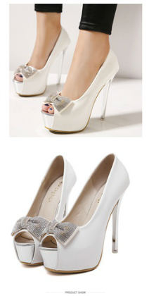 SH91838 IDR.230.000 MATERIAL PU-HEEL-4.5CM,14CM COLOR WHITE SIZE 35,36,37,38,39
