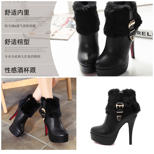 SH9283 IDR.260.000 MATERIAL PLUSH-HEEL-3.5CM,12.5CM COLOR BLACK SIZE 35,36,37,38,39