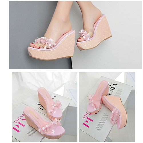 SH9581 IDR.239.000 MATERIAL PU-HEEL-12CM COLOR PINK SIZE 35,36,37,38,39