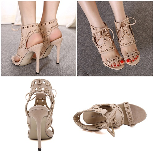 SH9983 IDR.249.000 MATERIAL PU-HEEL-11CM COLOR APRICOT SIZE 36,37,38,39