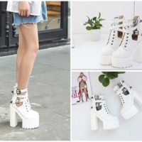 SHB18885 MATERIAL PU COLOR WHITE SIZE 36