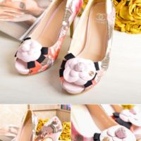 SHH97113 MATERIAL PU HEEL 10.5CM COLOR PINK SIZE 35