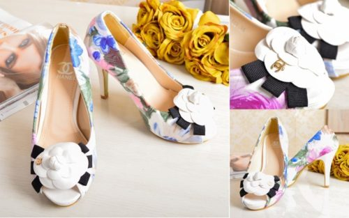 SHH97113 MATERIAL PU HEEL 10.5CM COLOR WHITE SIZE 35