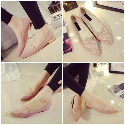 SHS1231 MATERIAL PU COLOR PINK SIZE 35