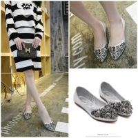 SHS20161 MATERIAL PU COLOR SILVER SIZE 35